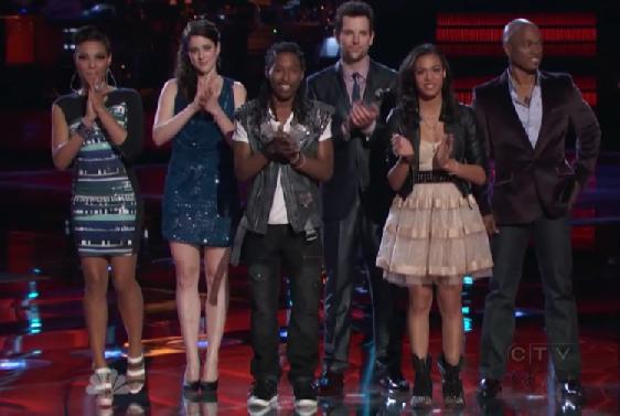 The Voice: Results Show (Ooh La La)