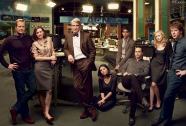 "The Newsroom – ""We are the media elite."""