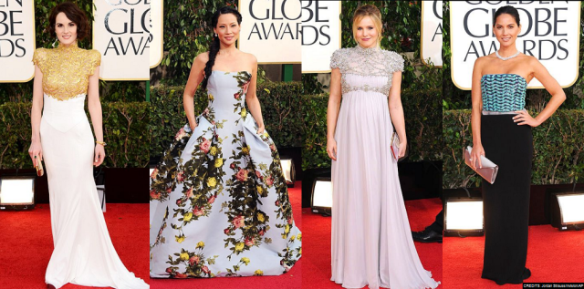 favorite golden globes 2013 gowns