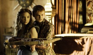 Margaery and Joffrey enjoy some quality time together.