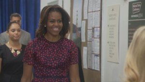michelle obama on parks and rec
