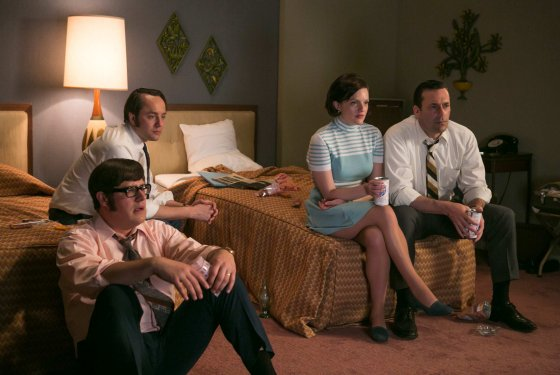 mad men moon landing