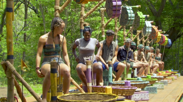 survivor foot challenge