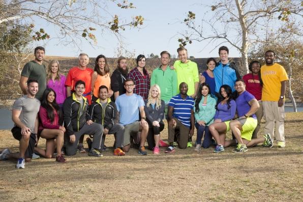 The Amazing Race season 26 cast.